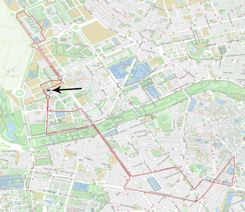 Linea 67 Bus EMT